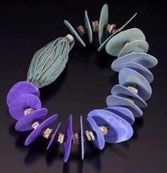 """Ronna Sarvas Weltman from """"Ancient Modern: Polymer Clay and Wire Jewelry"""""""