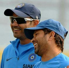 Sachin with Virender Sehwag
