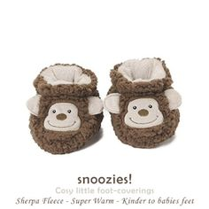 ac852d974aa Baby 3-6 Months ~ Snoozies Animal Sherpa Soft Fleece Booties ~ Lamb