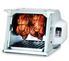 Infomercial item that doesn't suck! Tried and true little oven that can rotisserie 2 chickens at once. Yum~ Ronco Digital Showtime Rotisserie & BBQ Oven, Platinum Edition NEW Cooking Appliances, Specialty Appliances, Small Kitchen Appliances, Kitchen Gadgets, Cooking Gadgets, Rotisserie Oven, Electric Oven, Oven Glove, Marketing