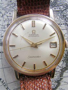 Watch Omega Seamaster Genuine Mens Ladies Vintage 60s