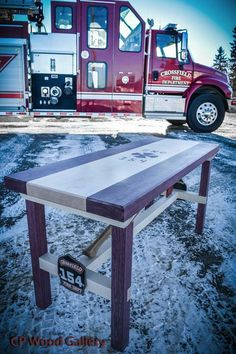 54 Great Firehouse Tables Images Firemen Fire