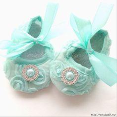 Como fazer sapatos para bebês com moldes01