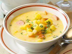 Unser beliebtes Rezept für Kartoffelsuppe mit Würstchen und mehr als 55.000 weitere kostenlose Rezepte auf LECKER.de.