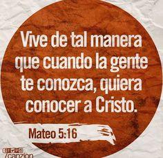 Vive para agradar a Dios y se humilde y bueno con los demas!