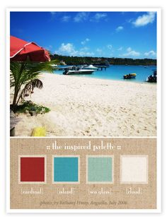 Inspired Palette {Island Breeze}