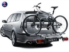 2009 Saab 9-3x SportCombi With Genuine Saab Accessories & Saab Bike.