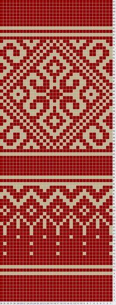 filigree- potential sock pattern: