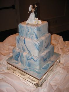 Beautiful Wedding Cakes with Waterfall | Waterfall cake