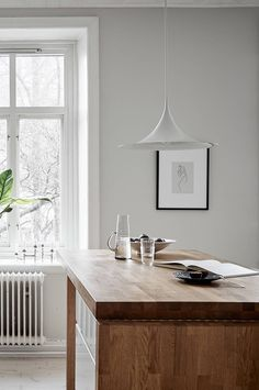 A warm greige home - via Coco Lapine Design blog