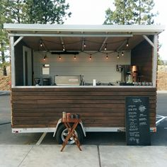 Tiny Home meets Coffee Cart