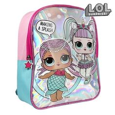 Children deserve the best, that's why we present to you Child bag LOL Surprise! ideal for those who seek quality products for their little ones! Get LOL Surprise! Lol Dolls, Cute Dolls, Mochila Skip Hop, Girls Rucksack, Holographic Bag, Cartoon Bag, Silver Bags, Latest Bags, School Bags For Girls
