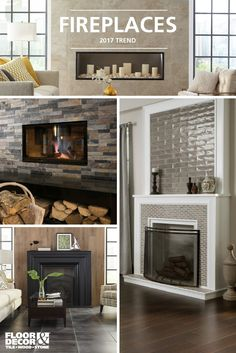 Warm up with these fireplaces & more...