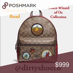 8f041d3f5761 Coach 3 Pc. Wizard of Oz 🧙 ♂️Collection Set Coach Wizard of Oz
