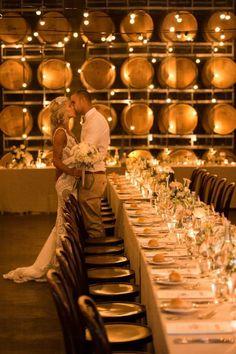 Beautiful Winery Wedding