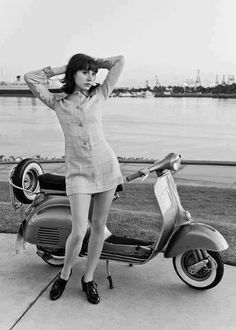 Mod girl, scooter girl #dress