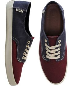 Vans Shoes - E-Street - (Hemp) Port Royal/Mood Indigo $45 #vans #estreet