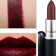 Mac media lipstick satin This lipstick is very cute for fall. Used once to test. Will clean with alcohol pad before shipping. MAC Cosmetics Makeup Lipstick