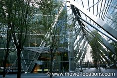 Skyfall filming location: Bond follows hitman Patrice into the 'Shanghai' hi-rise: Broadgate Tower, Primrose Street, London