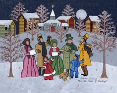 Medana Gabbard-Here We Come A Caroling