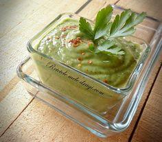 Sos de avocado cu verdeturi Spices And Herbs, Avocado, Palak Paneer, Guacamole, Gluten, Mexican, Ethnic Recipes, Sauces, Food