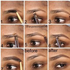 Wanna know the secret to natural looking? This step by step pictorial shows you how to create one easily.
