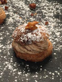 Choux craquelin praline sans gluten sur www.toutpareiletsansgluten.fr facile à réaliser et tellement gourmand tout en étant léger
