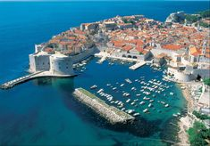 Dalmation Coast, Croatia.  Went on a cruise and loved the walled city