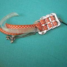 Bijoux de portable  languettes de canette  soda orange