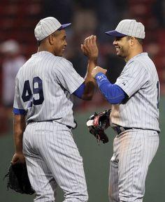 Aramis Ramirez and Carlos Marmol Photos: Chicago Cubs v Boston Red Sox