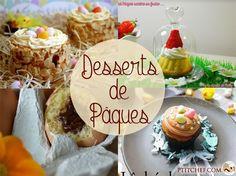 18 idées de desserts pour Pâques // Des oeufs en chocolat bien au chaud dans leur nid, des oeufs à la coque version dessert, des lapins en chocolat ou des bonbons chocolatés faits maison... bref découvrez nos 18 idées de recettes pour vos desserts de Pâques ==> www.ptitchef.com/... #ptitchef #recette #cuisine #recipe #cook #cooking #food #paques #oeuf #poule #lapin #chocolat