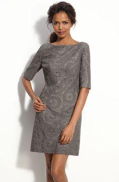 December wedding bridesmaid dress. Gray lace