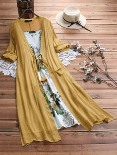 Gracila Vintage Bohemian Print Lace Two-piece Sleeve Dress is high-quality, see other cheap summer dresses on NewChic. Vestido Maxi Floral, Floral Midi Dress, Floral Dresses, Vestidos Vintage, Long Sleeve Vintage Dresses, Dresses With Sleeves, Yellow Midi Dress, Cheap Summer Dresses, Plus Size Maxi Dresses