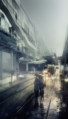 Alexander Daxböck (2013). Everyday it Will Rain, Rain, Rain, Rain... [Online Image] Retrieved on March 4th 2017 from https://www.behance.net/gallery/12720951/Visuals