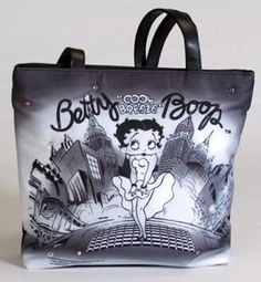Betty Boop Tote Bag Light Up Cool Breeze Style,$11.95
