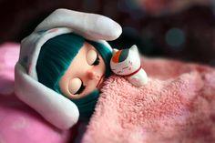 Valentine's Day Sale: Blythe Doll Custom Olya by chercheto