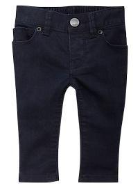 Skinny leggings (dark wash)