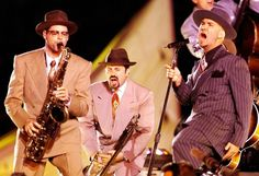 Big Bad Voodoo Daddy - Super Bowl XXXIII (1999). Theme: Celebration of Soul, Salsa and Swing