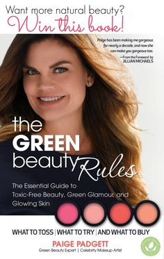 Win Paige Padgett's Green Beauty Rules Book! - http://www.mommygreenest.com/win-paige-padgetts-green-beauty-rules-book/