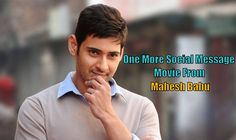 Mahesh babu one more movie on Social Message. Srimanthudu gave a good social messagee to the society. Now one more social message movie with Murugadoss