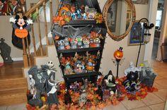 Halloween Decorations; Disney Decorating; Nightmare Before Christmas www.mydisneylove.com