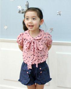 Vintage Inspired Girls Clothes Vindie Vintage Inspired Coffee Bean Print Baby Girl Blouse Top T Shirt Infant Clothing | Vindie Baby