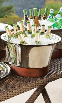 With the Collins Barware Collection, you can protect your table while making a stunning presentation.