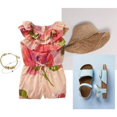 Baby Girl Outfit, created by sarah-eldridge on Polyvore