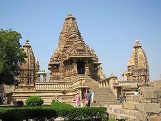 Western Temples - Khajuraho, India.
