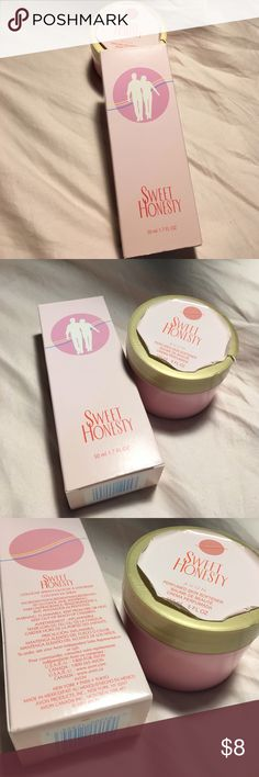 AVON SWEET HONESTY COLOGNE and CREAM BRAND NEW AVON SWEET HONESTY COLOGNE and CREAM. NEVER OPENED / USED. Avon Makeup Brushes & Tools