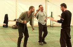 Sean Harris and Michael Fassbender in making off of the Macbeth Sean Harris, Favorite Pastime, Michael Fassbender, Going Crazy, Fangirl, Boys, Girls, Actors, How To Make
