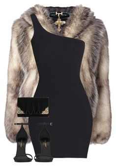 """""""Untitled #1172"""" by daisystylist ❤ liked on Polyvore featuring J.W. Anderson, Yves Saint Laurent and La Regale"""