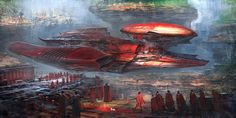 Concept Art by Feng Zhu Steampunk Illustration, Illustration Art, Claude Monet, Vincent Van Gogh, Futuristic Art, Matte Painting, Environment Concept Art, Science Fiction Art, Environmental Art