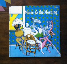 """Music for the Morning"" album cover front"